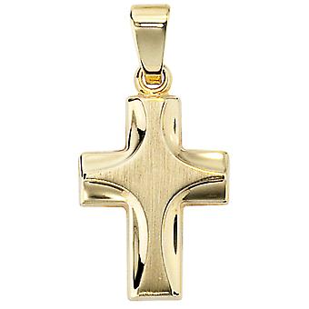585 /-g-gold cross pendant pendant pendant cross gold 585 cross pendant-gold