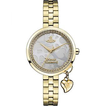 Vivienne Westwood Vv139slgd Bow Gold Stainless Steel Ladies Watch