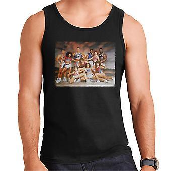 Retro Gladiators Studio Shot Men's Vest