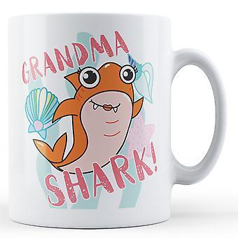 Бабушка акула! -Печатные кружка