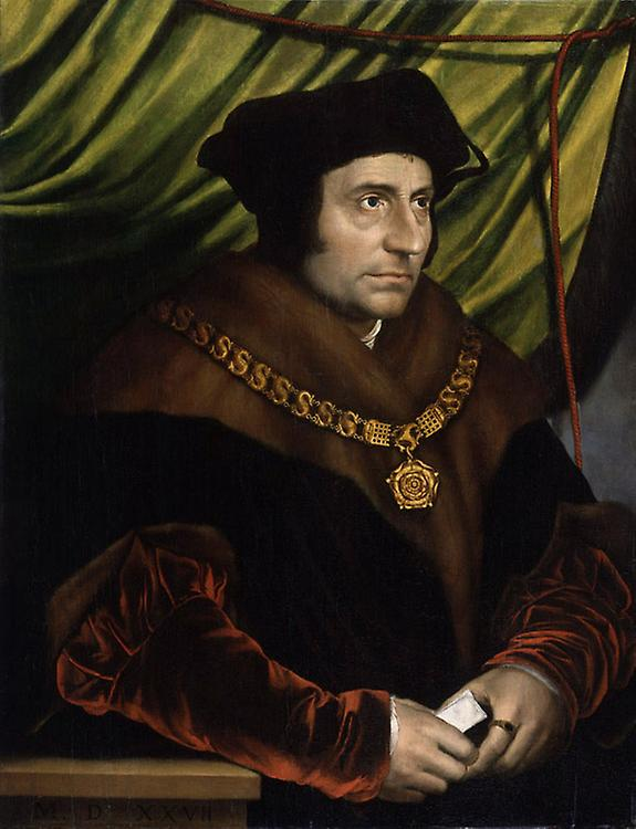 Sir thomas more,Hans holbein the younger,50x40cm