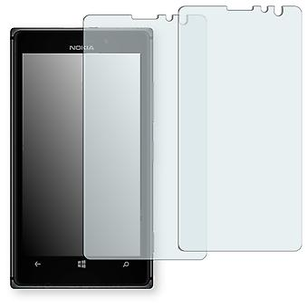Nokia Lumia 925 screen protector - Golebo crystal-clear protector (deliberately smaller than the display, as this is arched)