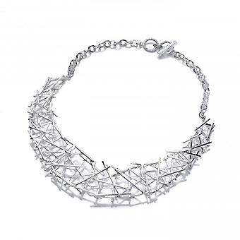 Collar de Crossgate plata francesa Cavendish