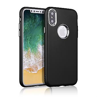 Black Case with Silver Details - iPhone XR