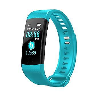 Y5 Multifunctional Task bracelet with color display-Blue