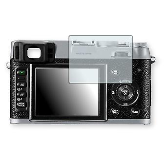 Fujifilm FinePix X 100 screen protector - Golebo crystal clear protection film