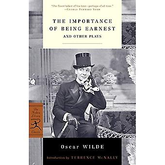The Importance of Being Earnest and Other Plays (Modern Library Classics)