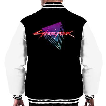 Cyberpunk 2077 Varsity chaqueta de los hombres