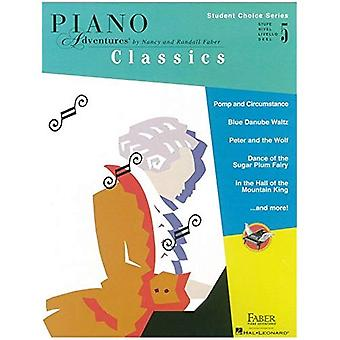 Faber Piano Adventures - Student Choice Series: Classics Level 5