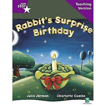 Rabbit's Surprise Birthday: paars niveau (Rigby ster geleid)