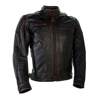 Richa Brown Detroit Motorcycle Leather Jacket