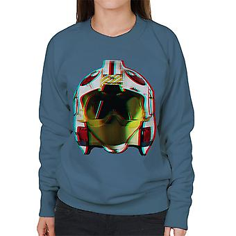 Original Stormtrooper Rebel Pilot Helmet 3D Effect Women's Sweatshirt