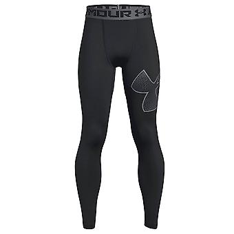 Under Armour utstyrt Heatgear rustning Logo barn Baselayer Legging svart