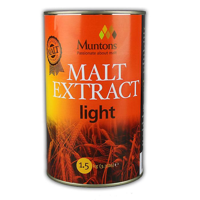 Muntons Light Malt Extract 1.5kg