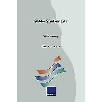 BGB Schuldrecht par Saueressig & Stefan
