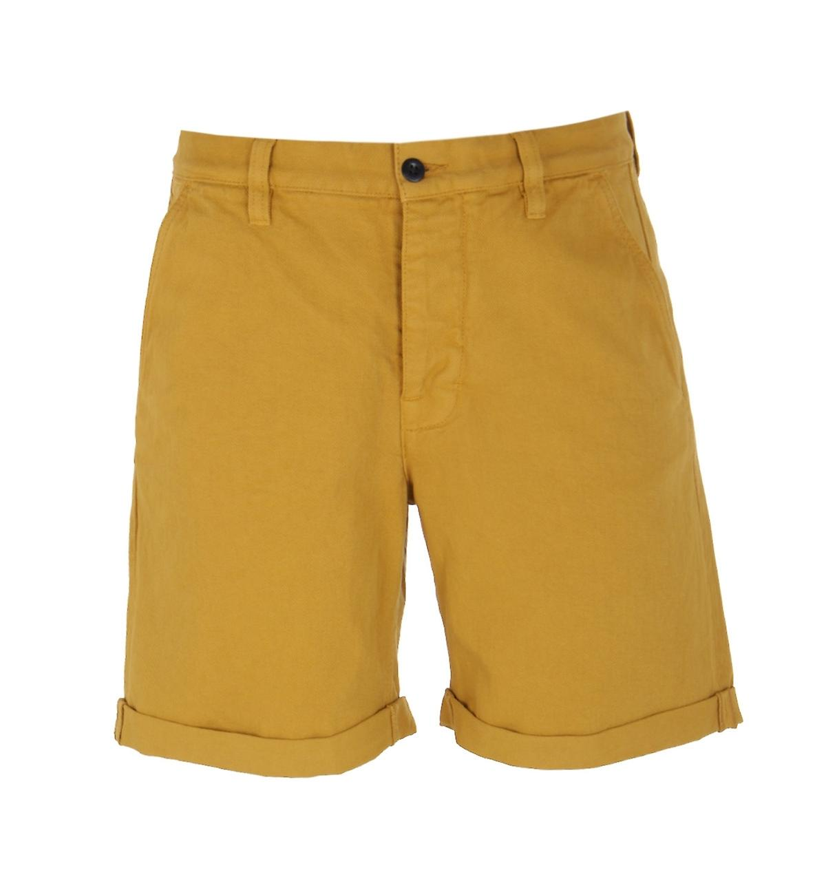 Nudie Jeans Co Luke Cotton Twill jaune courtes
