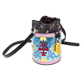 Disney Aladdin Magic Carpet Glitter Drawstring Bucket Bag