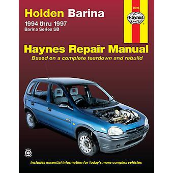 Holden Barina Australian Automotive Repair Manual - 1994 to 1997 by St