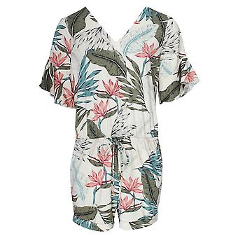 K-design Tropical Floral Print Playsuit