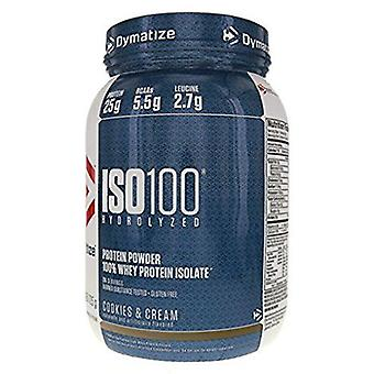 Dymatize Iso-100 Cookies & Cream 900 g (Sport , Muscle mass , Proteins)