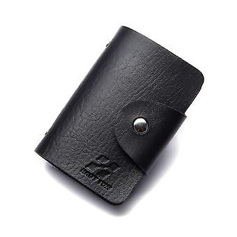 Hautton 24 Credit Card Wallet Stud Front