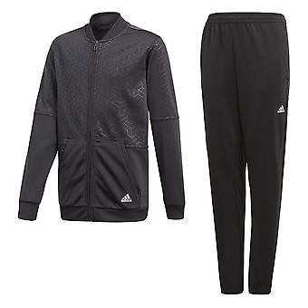 Adidas Junior jongens YB iconische trainingspak - CF7357
