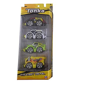 Tonka Die Cast Metal 4 Pack - Assorted