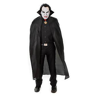 Bnov Nylon Dracula Cape Schwarz
