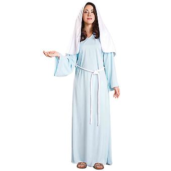 Virgin Mary Religious Biblical Times Christmas Easter Good Friday Womens Costume