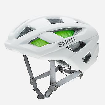 New Smith Route Bicycle Helmet White