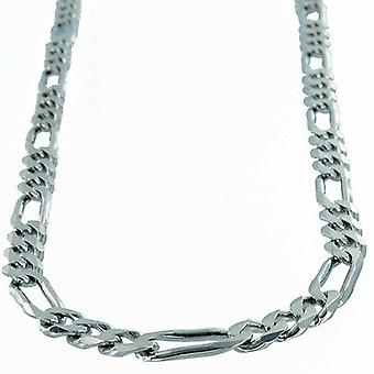 Necklace Sterling Silver Figaro link 7.4 Mm