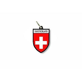 Porte cles clefs cle drapeau collection ville blason suisse swiss