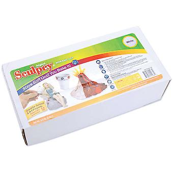 Sculpey Original Polymer Clay 8 Pounds White S8