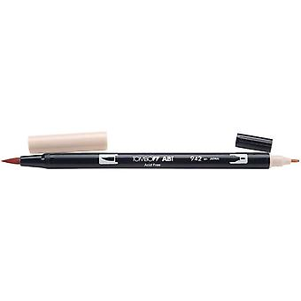 Tombow Dual Brush Marker Open Stock 942 Tan Dbp 56610