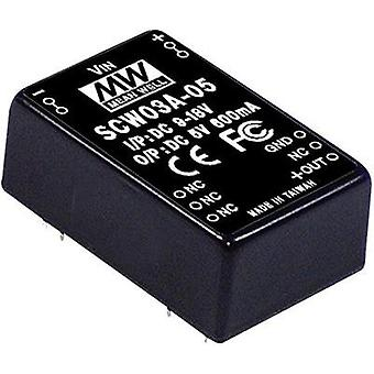 DC/DC-converter Mean Well SCW03C-05