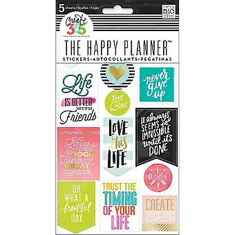 Create 365 Planner Stickers 5 Sheets/Pkg-Life Quotes PPS5-61