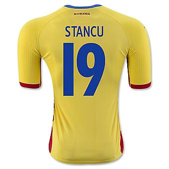 2016-17 Romania Home Shirt (Stancu 19)
