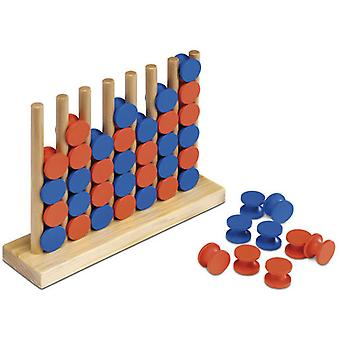 Cayro Match 4 Wood Color (Speelgoed , Bordspellen , Strategie)