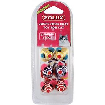 Zolux Pl. Cat 6 mice (Katten , Speelgoed , Muizen)