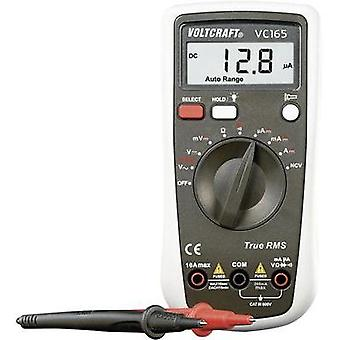 Handheld multimeter digital VOLTCRAFT VC165 TRMS Calibrated to: Manufacturer standards CAT III 600 V Display (counts):