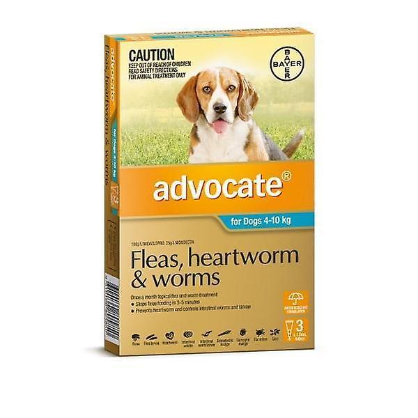 Advocaat 3 Pack Medium honden 4-10kg