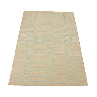 Strata Rugs Stt07 In Ivory And Grey