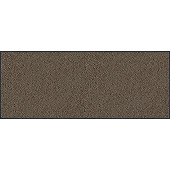 Wash & dry washable taupe 75 x 190 cm 016304 doormat