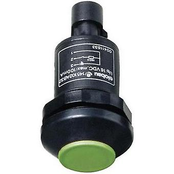 Pushbutton 48 V DC/AC 0.5 A 1 x Off/(On) Elobau 145000AB-GN IP67 momentary 1 pc(s)