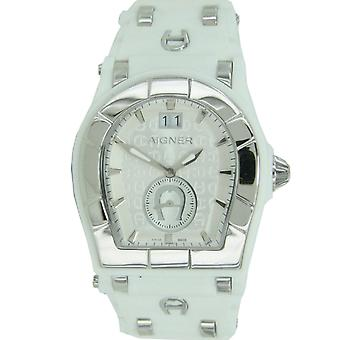 Aigner mens watch wristwatch Alba white A49201