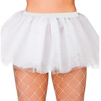 Wicked Ladies White Tutu 3 Layer Fancy Dress Hen Party Accessory