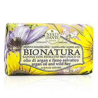 Bio Natura Sustainable Vegetal Soap - Argan Oil & Wild Hay - 250g/8.8oz