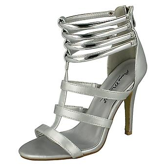 Ladies Anne Michelle åpen tå Heeled sandaler