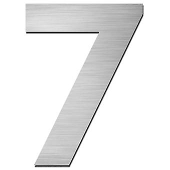 Serafini house number 7 stainless steel V4A for punching height 15 cm