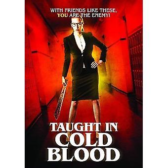 Undervist i koldt blod [DVD] USA import